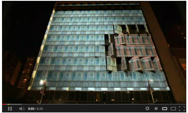 Triad-3d projection mapping