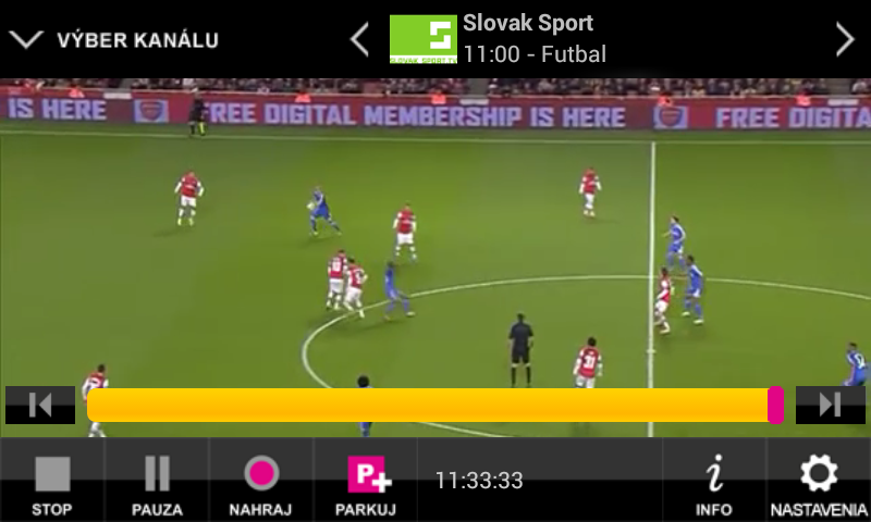 Slovak telekom-Magio TV go--android_livestream
