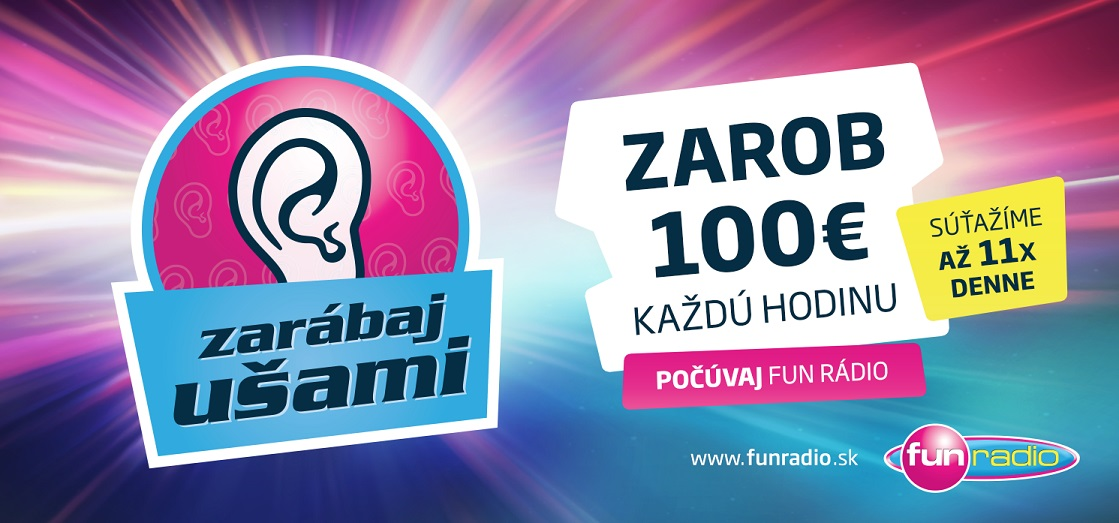 FUN Radio - Zarabaj usami - billboard