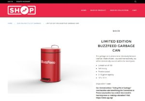 e-shop BuzzFeed - Our Failing Pile Of Garbage